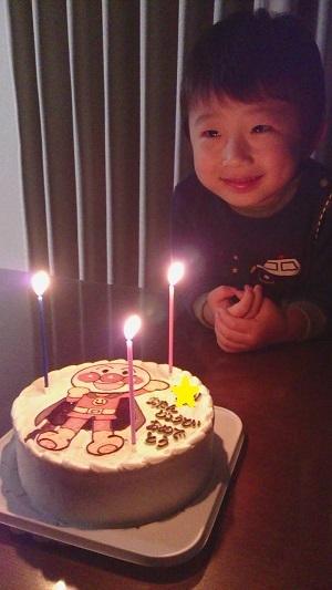 3歳誕生日1