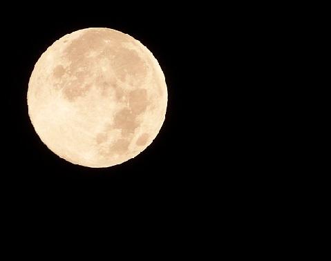 2014年8月11日 満月