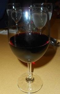 ⑩赤ワイングラス