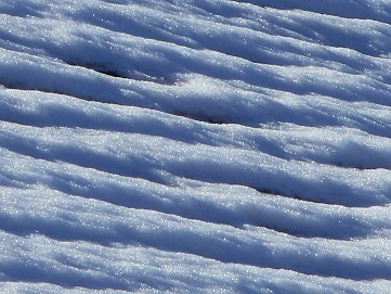 ⑤雪の模様 2016年11月24日・25日