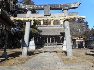 木曾三柱神社 20170110