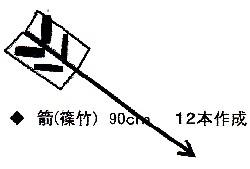 矢・的祭 馬室氷川神社 20170112