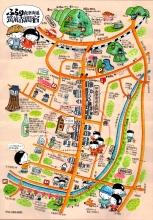 赤間宿街道MAPおもて小