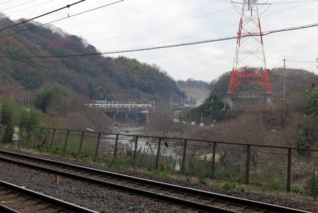 170101河内堅上駅あたり電車2