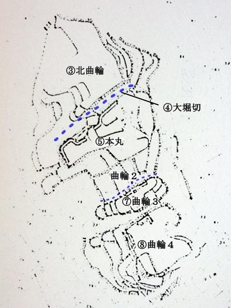 小野城_縄張図