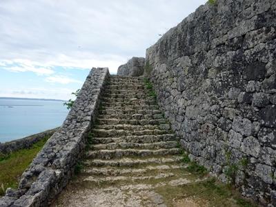 勝連城_一の曲輪階段