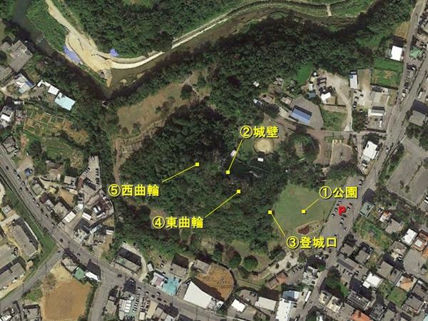 安慶名城航空写真