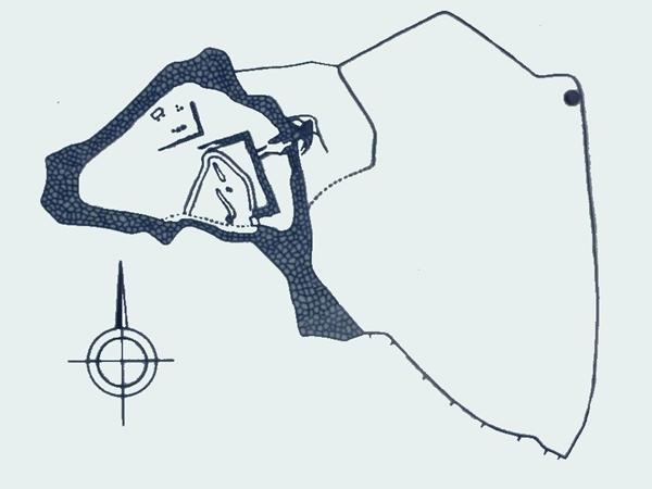 玉城城縄張