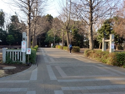 早川城_公園入口