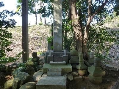 岡崎城_岡崎四郎の墓