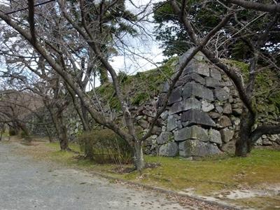 福岡城_三の丸石垣