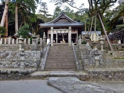 怡土城_高祖神社