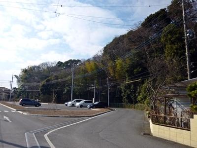 増尾城_台地