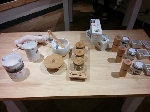 東京にあるスロヴェニア ピランの塩のお店1