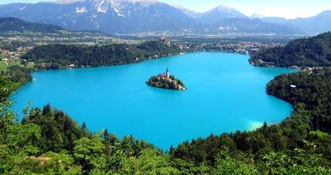 スロヴェニア ブレッド湖 ブレッド島 ブレッド城2