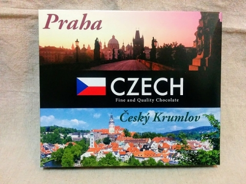 チェコ土産のドイツ製チョコレート1