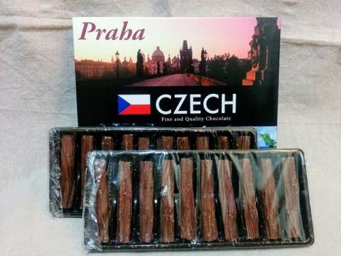 チェコ土産のドイツ製チョコレート2