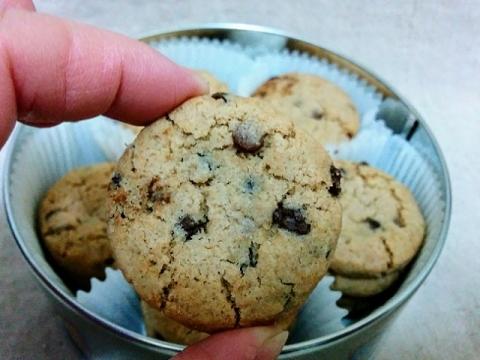 デンマーク製ヤコブセン社チョコチップクッキー ティン3