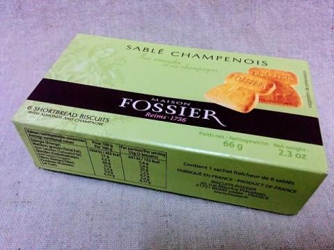 フランス製フォシェ社のシャンパンサブレ1