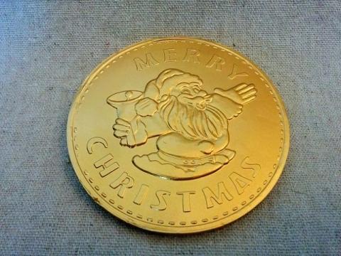 イタリア製ワルコール クリスマスコインチョコ1