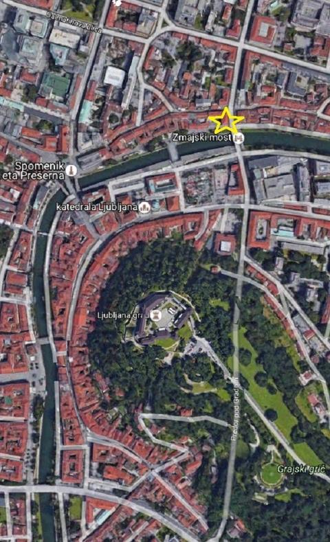 スロヴェニア旧市街