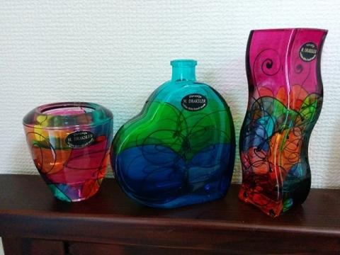 スロヴェニア製ガラス製品 ミリヤナ・ドラクスラー