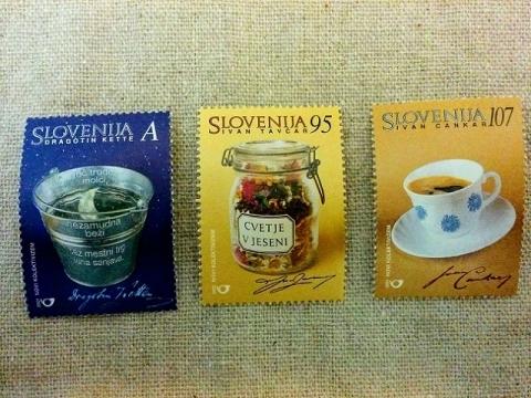 スロヴェニア建国10周年記念切手1