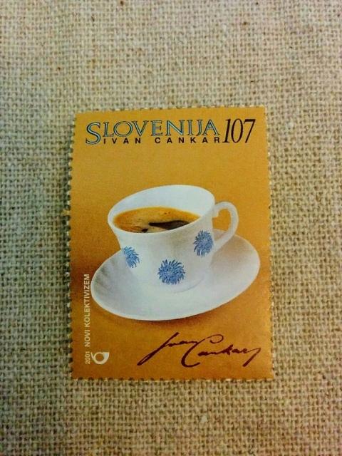 スロヴェニア建国10周年記念切手3