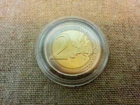スロヴェニア建国25周年記念2€コイン1