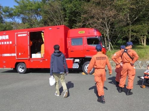 うなぎまつり 消防 津波・大規模風水害対策車