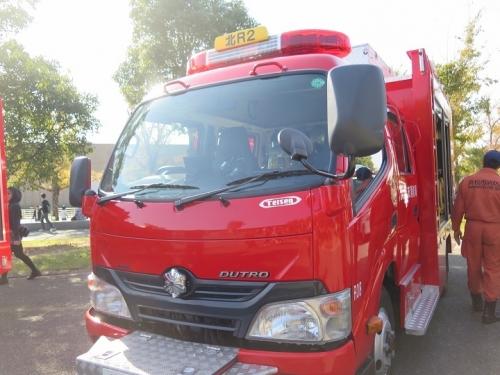 うなぎまつり 消防 大規模震災用高度救助車