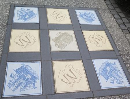 横浜 タイル