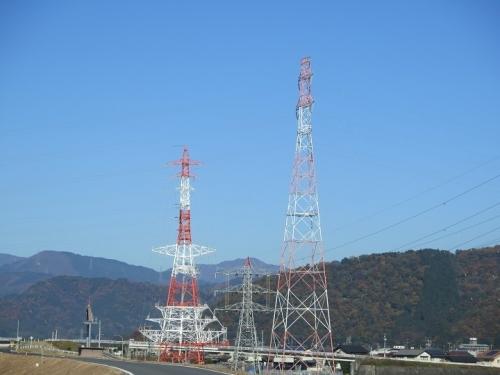 揖斐川 鉄塔