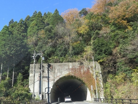 岐阜県 名倉トンネル