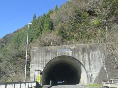 岐阜県 樫原トンネル
