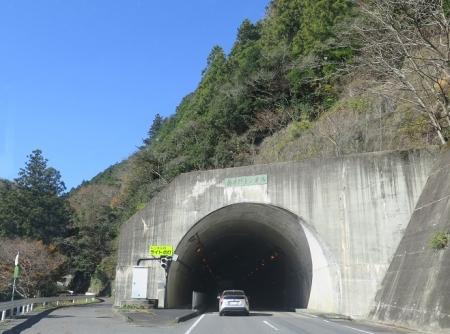 椿井野トンネル