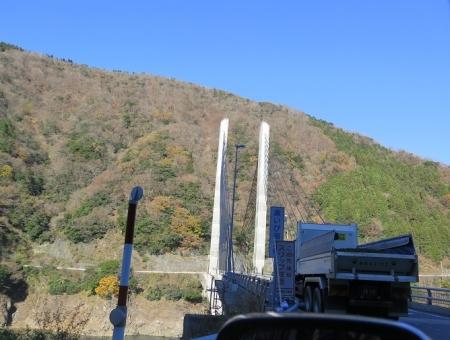岐阜県 奥揖斐湖大橋