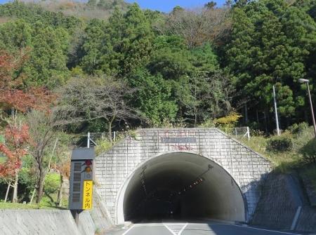 岐阜県 乙原トンネル