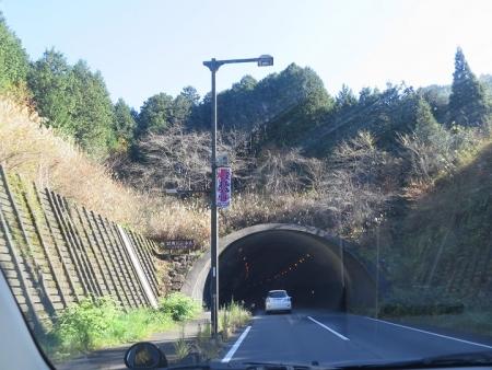 岐阜県 岩坂トンネル