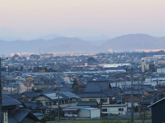 道の駅『池田温泉』からの眺め