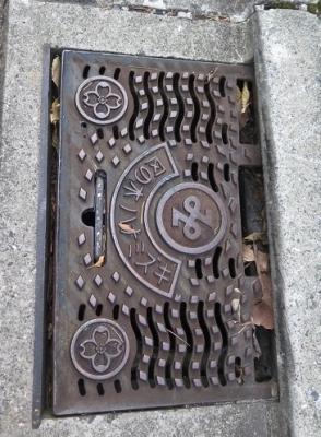 赤坂 側溝の蓋