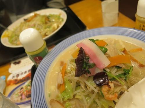 長崎ちゃんぽんと皿うどん