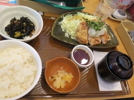 若鶏の竜田揚げ和膳おろしポン酢