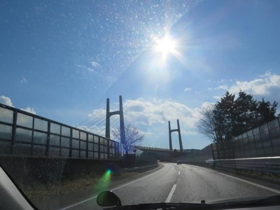 東名のブリッジ