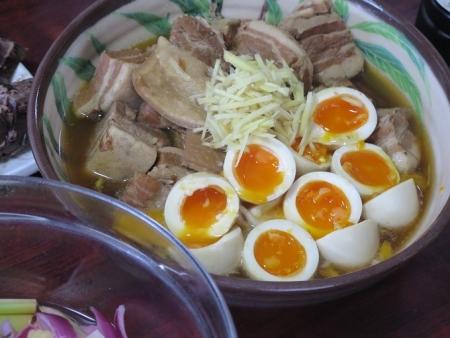角煮と煮たまご