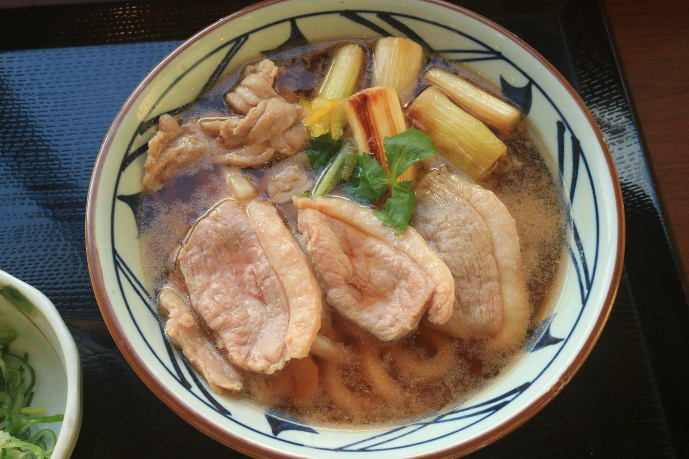 ●S丸亀製麺 かもネギうどん620