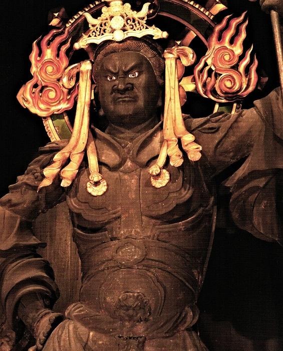 養源院・毘沙門天像