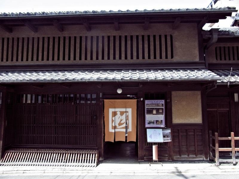 奈良屋杉本家・玄関