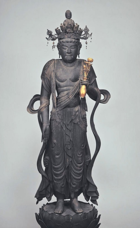 東博蔵・十一面観音像(9C)