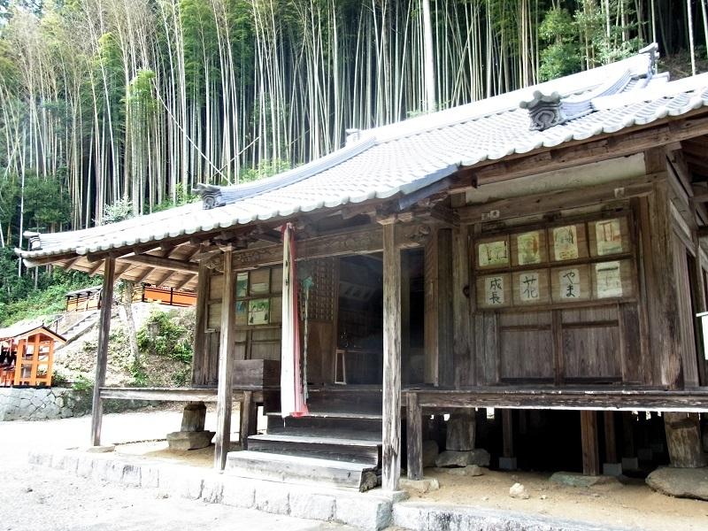薬音寺のお堂